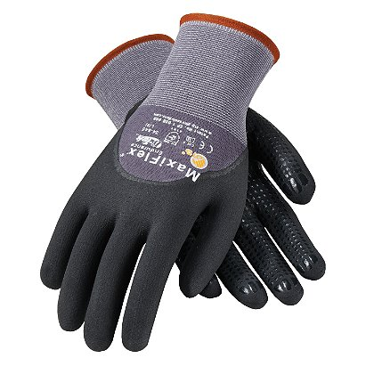 PIP G-Tek Maxiflex Endurance Glove, Micro-Foam Nitrile Coated Palm, Box of 12