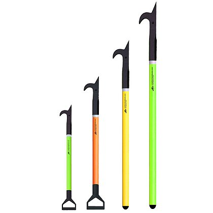 Leatherhead Tools American Hook Pike on Pro-Lite, Hi-Viz Fiberglass Pole
