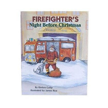 Firefighter's Night Before Christmas Book