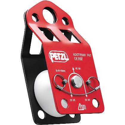 Petzl KOOTENAY, Single Knot Passing Pulley