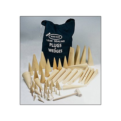 Team Equipment Leak Sealing Plug and Wedge Kit