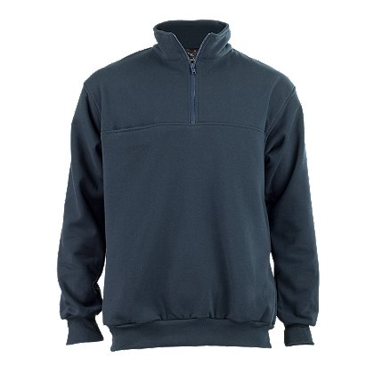 R-Heroes Job Shirt, Fleece Comfort Collar, 1/4 Zip