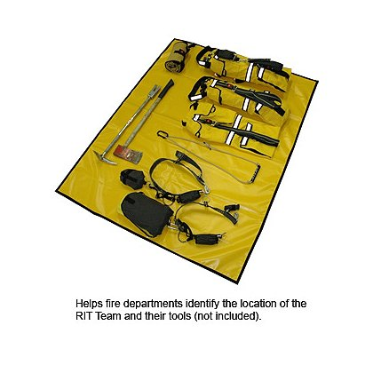 RIT BAG RIT Cache Tarp, Yellow, 5' x 6'
