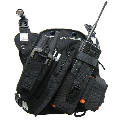 Coaxsher RCP-1 Pro Deluxe, Radio Chest Pack