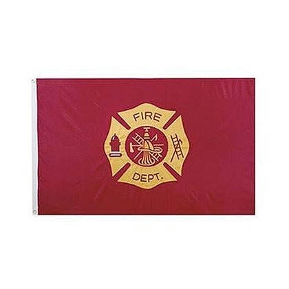 Fire Dept. 3' x 5' Flag