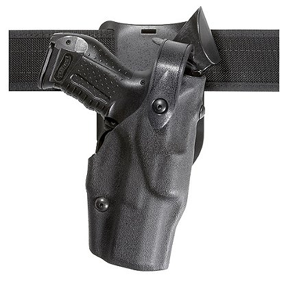 Safariland Model 6365 ALS Level II+ Retention, Belt Drop Duty Holster, Hood Guard