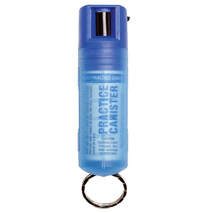 Sabre Practice Spray .54 oz Practice Canister, Hardcase