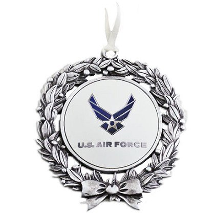 Son Sales, Inc. US Air Force Sublimated Wreath Ornament