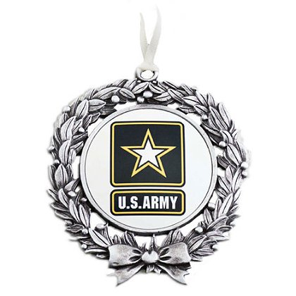 Son Sales, Inc. US Army Sublimated Wreath Ornament