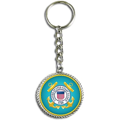 Son Sales, Inc. US Coast Guard Sublimated Key Ring