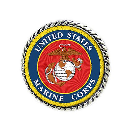Son Sales Sublimated Marine Corps Lapel Pin