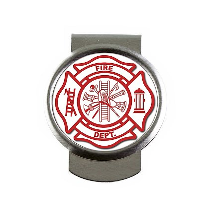 Son Sales, Inc. US Fire Dept Sublimated Money Clip