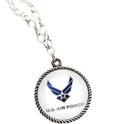 Son Sales Sublimated US Air Force Pendant and 18