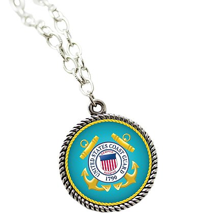 Son Sales Sublimated US Coast Guard Pendant and 18