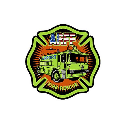 Exclusive ARFF Maltese Cross and Apparatus, 2
