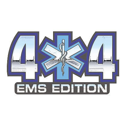 Decal 4 X 4 EMS Edition with SOL 4