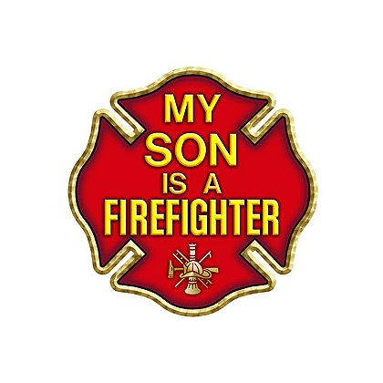 TheFireStore My Son is a Firefighter, Maltese Cross, 4