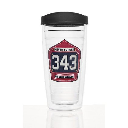 Exclusive Never Forget Thermal Travel Mug with Travel Lid