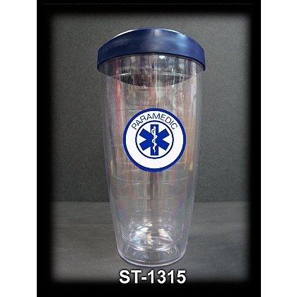 Firehouse Decals Paramedic Travel Cup with Travel Lid