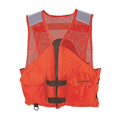 Stearns Comfort Series Utility Flotation Vest, Orange
