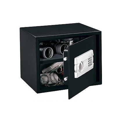 Stack-On PS-515 Large Strong Box Personal Safe, Electronic Lock