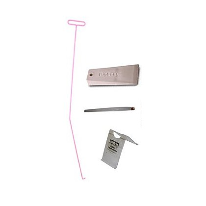 Steck BigEasy Classic Lockout Kit, High Visibility Pink