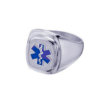 Men's EMT Ring, Sterling Silver