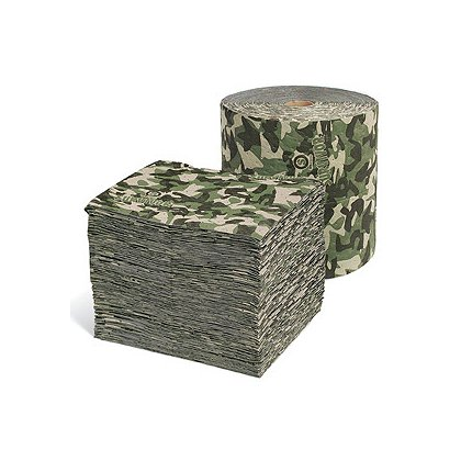 SpillTech Camouflage SurvivorSeries Mats, Universal Roll or  Pads