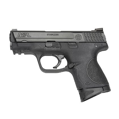 Smith & Wesson Model M&P40c with Night Sights and Mag Disconnect, .40 S&W