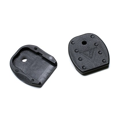 TangoDown Vickers Tactical Magazine Floor Plate, Black, Set of Five, for Glock Pistols