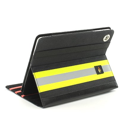 TheFireStore Exclusive Black PBI Turnout Gear iPad Case
