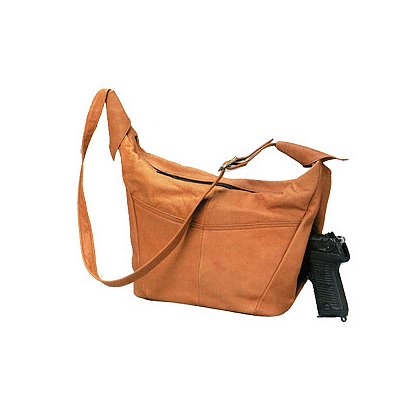 Triple K Ladies Leather Pistol Purse -- Combine Fashion with Firepower.