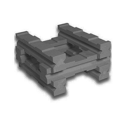 Turtle Plastics Cribbing Lincoln Log Kit