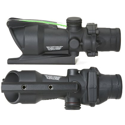 Trijicon ACOG 4x32 Scope for M16/AR15, Handle Mount, Dual Illuminated Reticle