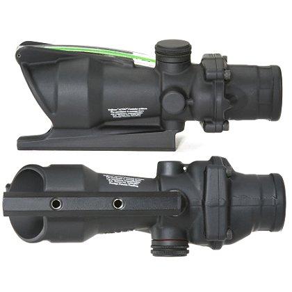 Trijicon ACOG 4x32 Scope for M16/AR15, Handle Mount, Dual Illuminated Reticle