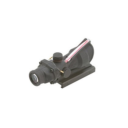 Trijicon ACOG 4x32 Scope, USMC Rifle Combat Optic (RCO) with Red Dual Illuminated Reticle, Flattop Mount