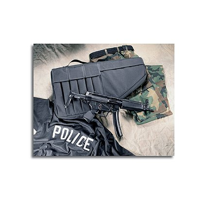 Uncle Mike's Black Tactical Submachine Gun Case
