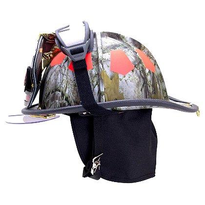 Bullard USTM Tradional Fire Helmet, Winter Camo