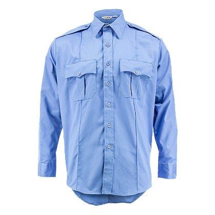 Lion StationWear Bravo 6.5oz. Long Sleeve 100% Cotton Twill Shirt