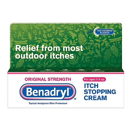 Johnson & Johnson Benadryl Cream, 1oz Tube