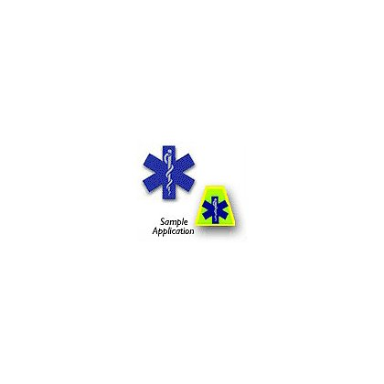 Star Of Life Die Cut Reflective Decal
