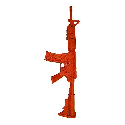 ASP Red Training Guns, AR15 Government Carbine Flat Top