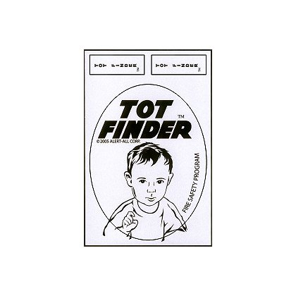 Exclusive Tot Finder Decal