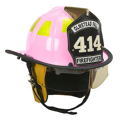Cairns Pink 1010 Traditional Fiberglass Helmet, NFPA, OSHA