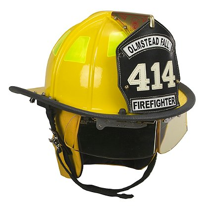 Cairns Yellow 1010 Traditional Fiberglass Helmet, NFPA, OSHA