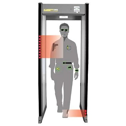 Garrett PD-6500i Walk-Through Metal Detector