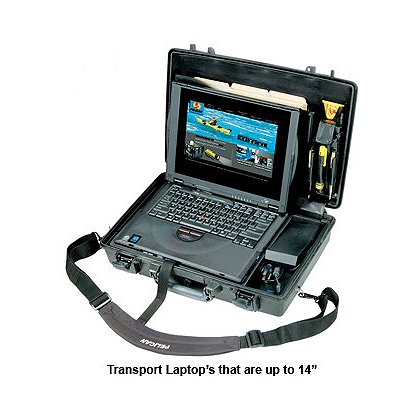 Pelican Laptop Transport Case, Model 1490CC1