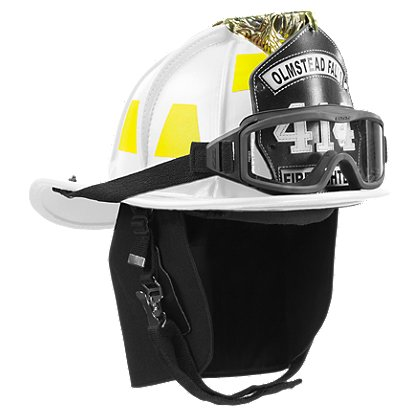 Phenix TL-2 Traditional Leather Firefighting Helmet