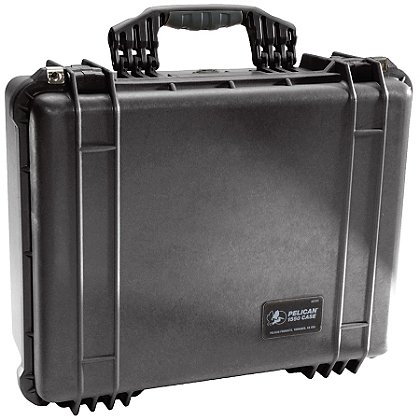 Pelican TrekPak Medium Protector Case, Model 1550TP, Black