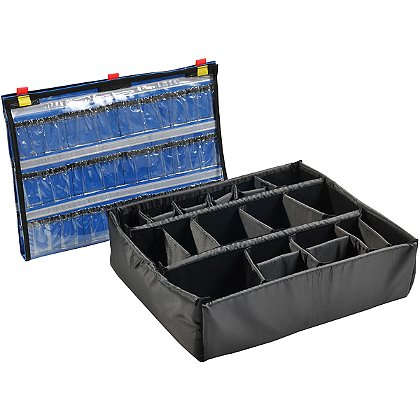 Pelican Lid Organizer and Divider Kit for 1600EMS Case